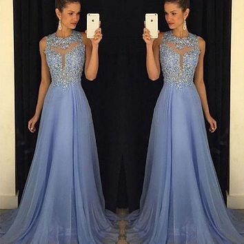 Women Formal Dress Long Evening Party Ball Prom Gown Dress Women Clothes Clubwear Sequined Dresses
