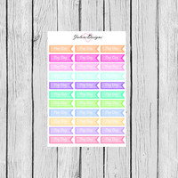PAY DAY Flags Planner Stickers perfect for Erin Condren, Kikki K, Filofax, Plum Paper Planners #0012