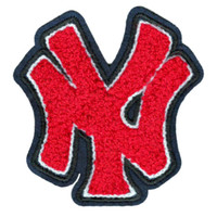 Large 9cm Chenille New York NY Patch Applique