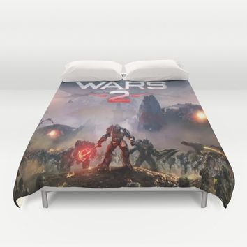 Halo Wars 2 Duvet Cover by nurrahaq