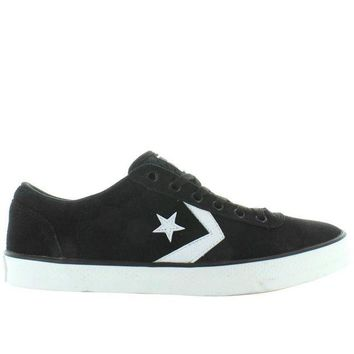 VONET6 Converse All-Star Wells Ox - Black/White Canvas Lace Sneaker