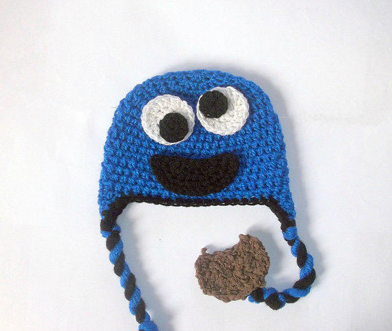 Monster Hat Crochet Pattern Cookie From Patternstudio1 On