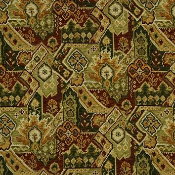 Robert Allen Fabric 221416 Aztec Wind Sienna