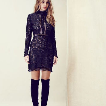 For Love & Lemons Florence Cocktail Dress