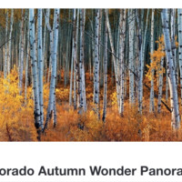 Colorado Autumn Wonder Panorama by OLenaArt @LenaOwens