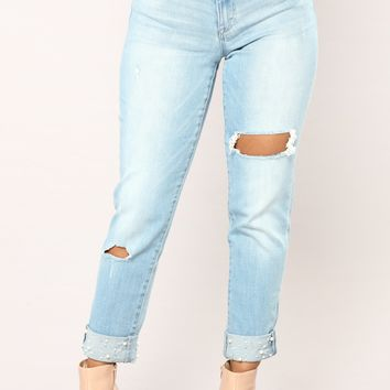 New Best Friend Jeans - Light Denim