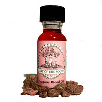 Dragon's Blood Oil For Hoodoo, Voodoo, Wicca & Pagan Rituals