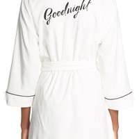 Kate Spade New York Goodnight Short Lawn Robe