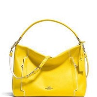 Coach Scout Shoulder Hobo Bag in Colorblock Leather