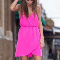 It's Party Time Dress, Hot Pink
