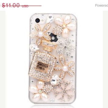 On Sale DIY 3D rhinestone crystal  Bling Cell Phone Case Deco Kit