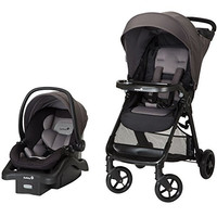 Smooth Ride Travel System with onBoard 35 Infant Car Seat, Monument 2