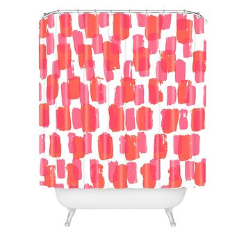 Natalie Baca Paint Play Two Shower Curtain