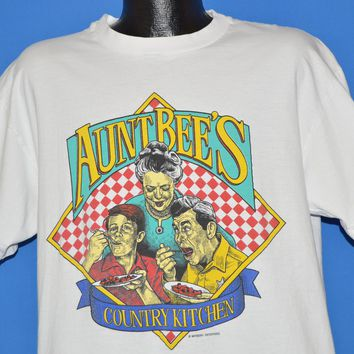 80s Aunt Bee's Country Kitchen Andy Griffith t-shirt Extra Large
