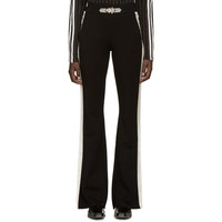 Black Swarovski Angelo Lounge Pants