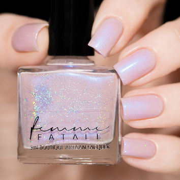 Femme Fatale Horae Awaits Nail Polish (Birth Of Venus Collection)