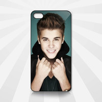 iPhone case  Cool and Cute Justin Bieber Style   - iPhone 4 4s , iPhone 5 Hard Case ( Black , White Or Clear Case)