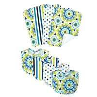 Waverly Baby Solar Flair 8-pc. Bib & Burp Cloth Bouquet Set by Trend Lab