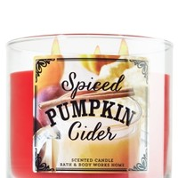 3-Wick Candle Spiced Pumpkin Cider