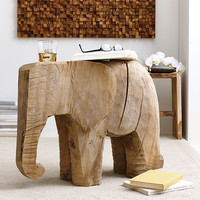 Horton the Elephant Side Table | elephant decor