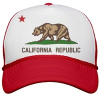 Cali Rebellion Hat: Custom Valucap Poly-Foam Snapback Trucker Hat - Customized Girl