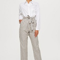 Stripe Peg Trousers
