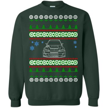 Evo Voltex front ugly christmas sweater