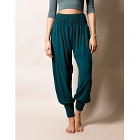Bamboo Taj Pants - Teal - Large & XL Only