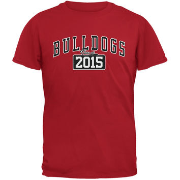 Graduation - Bulldogs Class of 2015 Red Adult T-Shirt