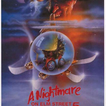Nightmare on Elm Street 5 Movie Poster 24x36