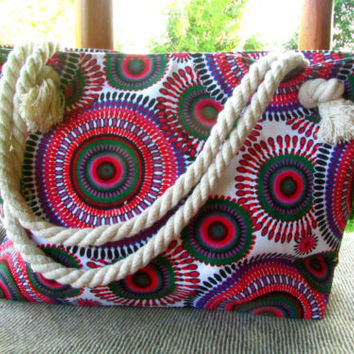 Large Womens Boho Hippie Canvas Mandala BagTote Shoulder Bag Shopping Bag Beach | eBay