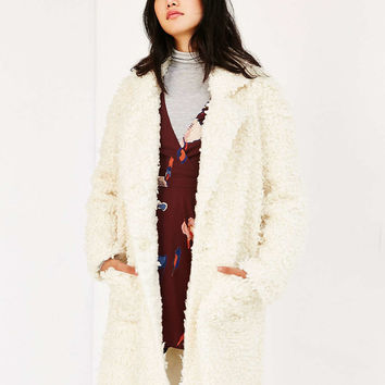 MINKPINK Obsessed Teddy Coat - Urban Outfitters
