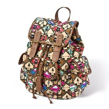 Arrow Print Backpack  | Claire's