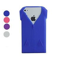 Clothing Pattern Soft Case for iPhone 4 4S