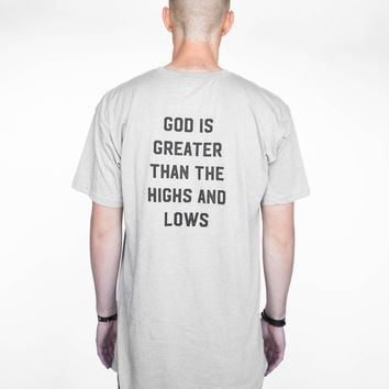 Heather Stone Highs and Lows Long Tee