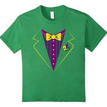 Funny Mardi Gras Tux Shirt, Party Celebration Costume Gift