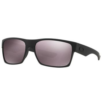 One-nice™ Oakley Twoface Sunglasses Covert Collection Matte Black Polarized Prizm Daily