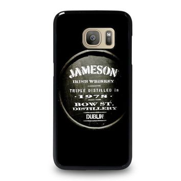 jameson whiskey samsung galaxy s7 case cover  number 1