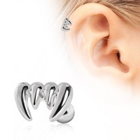316L Surgical Steel Vampire Fangs Cartilage Earring