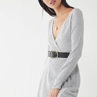 UO Coraline Cozy Wrap Dress | Urban Outfitters