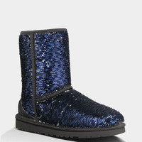 Ugg Classic Short Sparkles Womens Boots Midnight  In Sizes