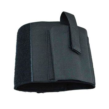 Outdoor Sports Hunting Concealed Universal Elastic Black Carry Ankle Leg Pistol Gun Holster