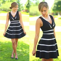 Contrasting Opinions Dress