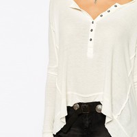 Free People Swing Henley Top