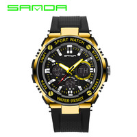 SANDA G Style Digital Watch S Shock Men military army Watch water resistant Date Calendar LED Sports Watches relogio masculino