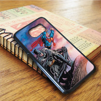 Marvel Batman Super Man Samsung Galaxy S6 Edge Case