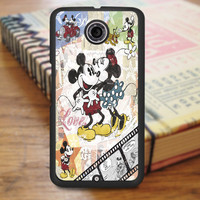 Micky And Minnie In Love Nexus 6 Case
