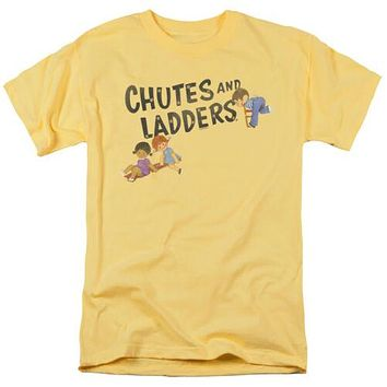 Mens Chutes and Ladders Retro T Shirt