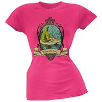 Alice In Wonderland - Who Are You Juniors T-Shirt