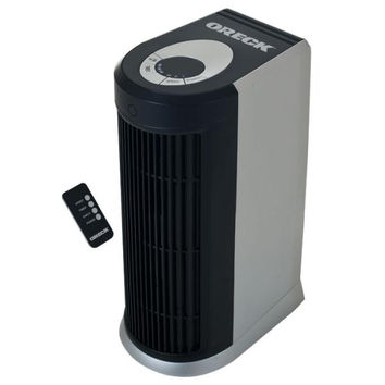Refurbished - Oreck Air Purifier with HEPA - Silver - Factory Serviced
